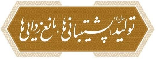 شعار سال 1400 وحدت پاوه کتابخانه