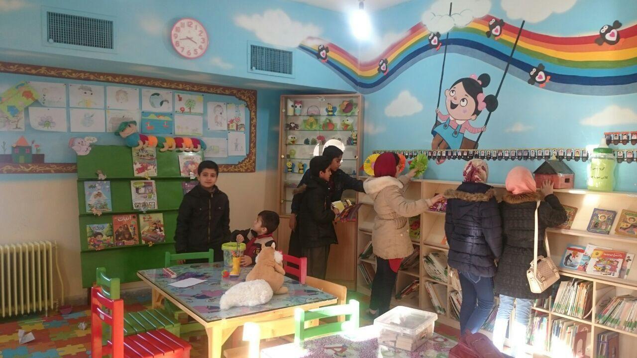 بازدید دانش آموزان دره بیانی از کتابخانه وحدت پاوه