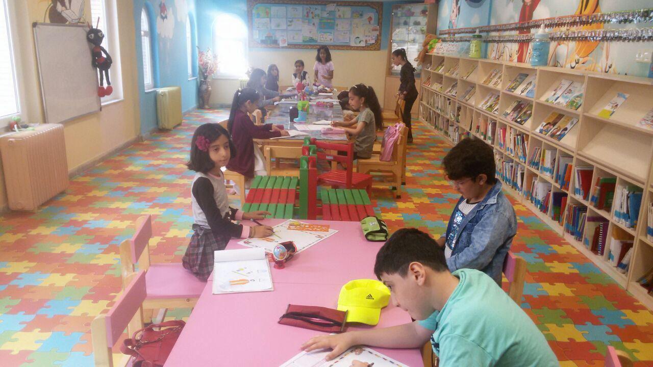مسابقه نقاشی کتابخانه وحدت پاوه
